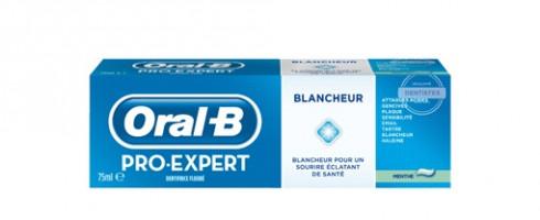 Dentifrice Oral-B Pro-Expert Blancheur à la Menthe